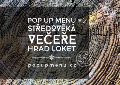 Pop up menu #2 | Hrad Loket