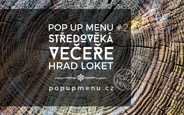 Pop up menu #2 | Hrad Loket