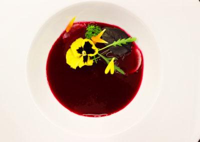 Gazpacho z červené řepy
