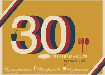 Pop up menu #6⎮30 let svobody
